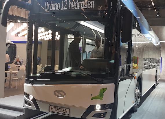 Solaris podczas Globalnego Szczytu Transportu Publicznego UITP 2019 prezentuje dwa zeroemisyjne pojazdy