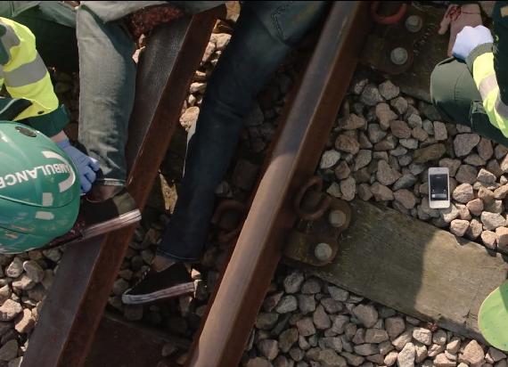 Brytyjska kampania You vs. Train opublikowała mocny film [VIDEO]