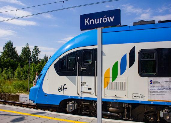 Koleje Śląskie zorganizowały specjalny przejazd z okazji 10. edycji Święta Szlaku Zabytków Techniki.