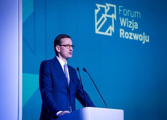 """Relacja z pierwszego dnia II Forum Wizja Rozwoju. """"Forum, wizja i rozwój będą wytaczać kolejne kierunki, będą azymutem zmian w naszej ojczyźnie"""" – Premier Mateusz Morawiecki"""