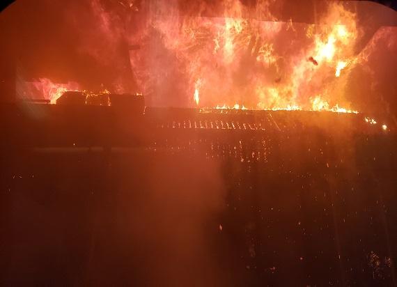 Stany Zjednoczone: Pożar pociągu na Union Station w Los Angeles