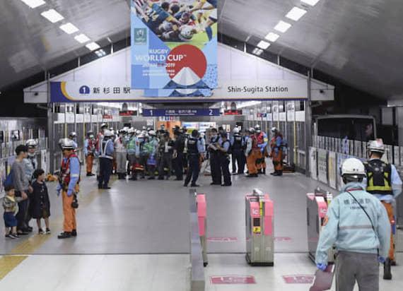 Japonia: Autonomiczny pociąg pojechał w złą stronę. 20 osób zostało rannych