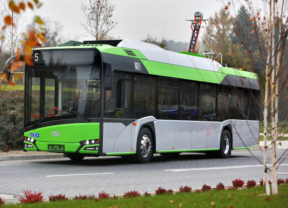 Solaris zrealizuje zamówienie na sześć autobusów elektrycznych dla Konina