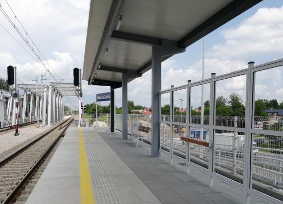9 czerwca podróżni skorzystają z nowego przystanku i peronu Rzeszów Zachodni