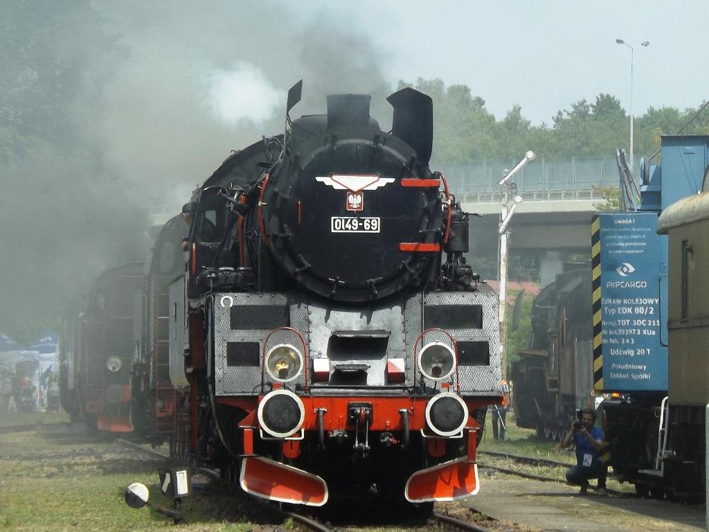 Miłośnicy zabytkowych pociągów spotkali się na Parowozjadzie [Fotorelacja]
