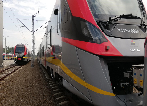 ŁKA: Kolejne 3 pociągi Impuls II trafiły do Łodzi