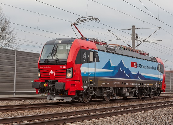 SBB Cargo International zamawia 20 lokomotyw Vectron