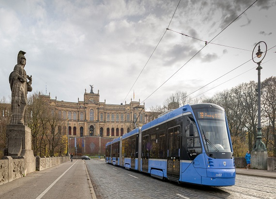 Siemens Mobility dostarczy 73 tramawaje Avenio do Monachium