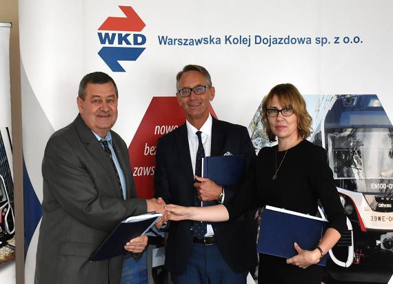 WKD: Jest umowa na projekt drugiego toru od Podkowy Leśnej do Grodziska Mazowieckiego
