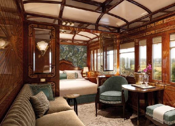 Modernizacja jednego z najbardziej luksusowych pociągów na świecie [ZDJĘCIA]
