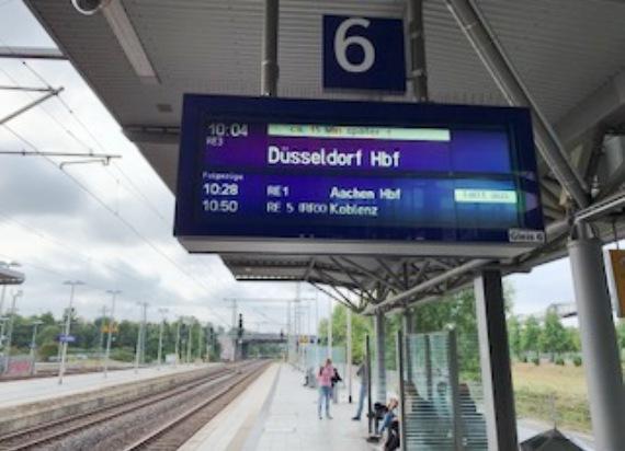 """""""Ordnung"""" w niemieckiej kolei"""