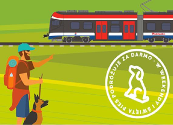 WKD chce skłonić pasażerów do przejazdów pociągami wraz ze swoimi pupilami