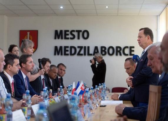 Słowaccy i polscy samorządowcy podsumowali sezon kolejowy