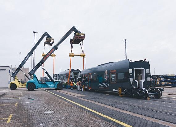 Nowy pociąg Leo Express Sirius dotarł do Czech