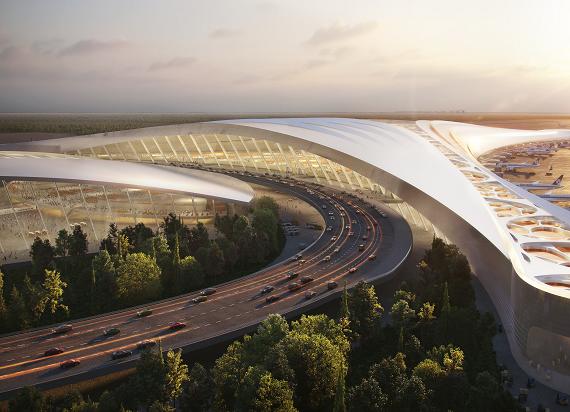 Nowe drogi do Portu Lotniczego Solidarność. CPK i GDDKiA podpisały porozumienie o współpracy