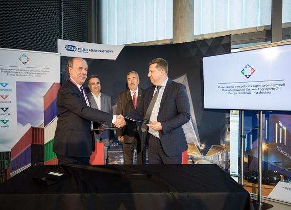 PKP integratorem branży logistycznej w Europie Środkowo-Wschodniej