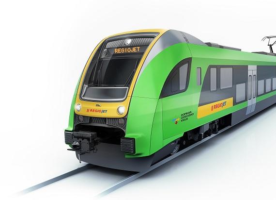 Zaprezentowano Elf.eu dla RegioJet. Zmienił się design pojazdu