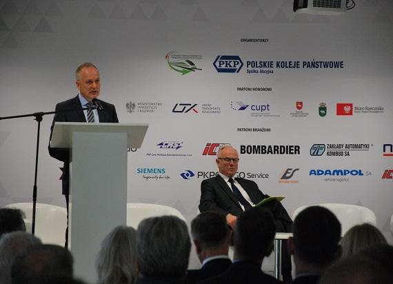 """Prezes PKP CARGO podczas """"Forum Kolejowego-1435/1520"""": """"Jedną z inicjatyw strategicznych jest rozwój przewozów intermodalnych"""""""