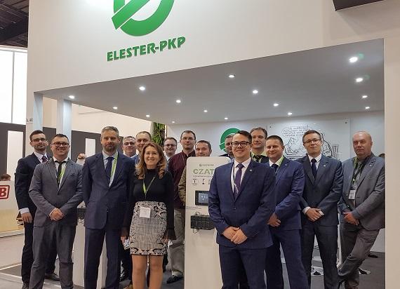 ELESTER-PKP i PKP Energetyka rozbijają bank nagród na Międzynarodowych Targach Kolejowych TRAKO