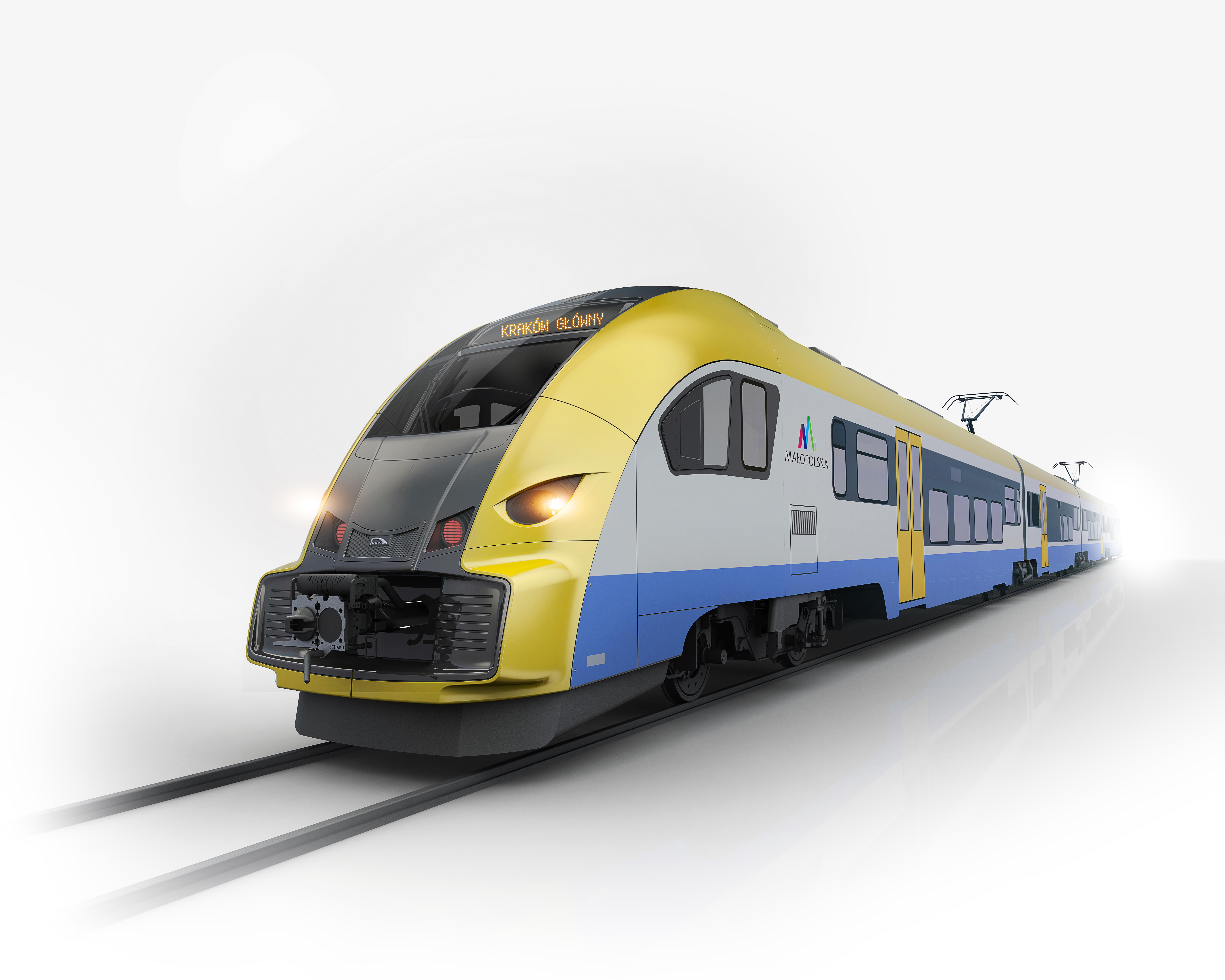 Nowe pociągi w taborze Województwa Małopolskiego