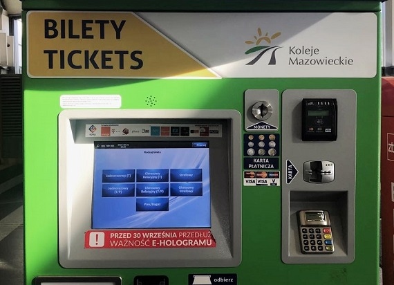 Będą nowe biletomaty – KM podpisały umowę z firmą ASEC S.A.