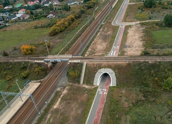 W Jasienicy Mazowieckiej otwarto nowe przejście pod torami