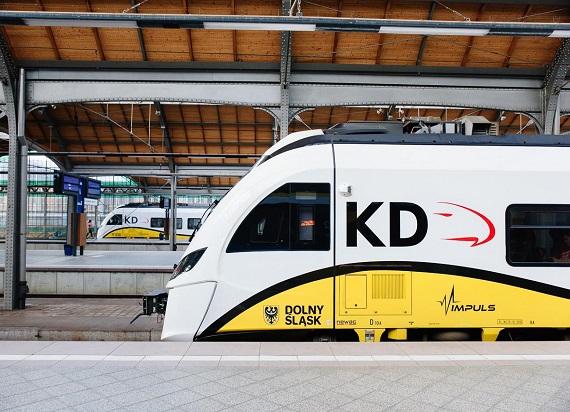 Koleje Dolnośląskie z rekordowym miesiącem. Blisko 1,4 mln pasażerów w październiku