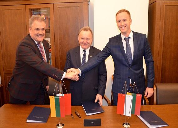 PKP PLK S.A. podpisały umowę o współpracy z Kolejami Litewskimi
