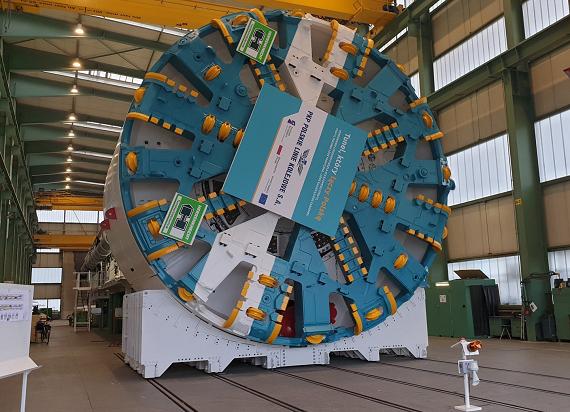 Maszyny do drążenia tuneli przyjadą na budowę podziemnej linii Łódź Fabryczna – Łódź Kaliska/Łódź Żabieniec