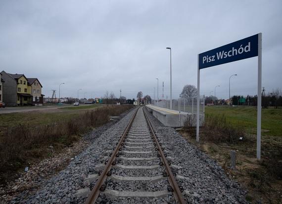 Pociągi wrócą na całą trasę Olsztyn – Ełk przez Pisz