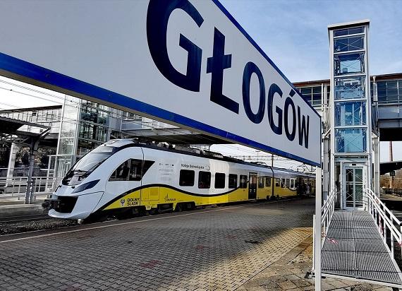 Koleje Dolnośląskie przywróciły połączenie do Głogowa