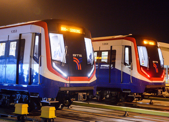 22 pociągi metra Siemens Mobility dla Bangkoku