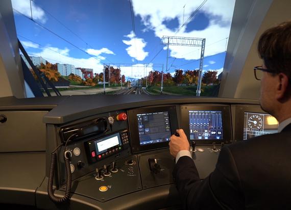 Lotos Kolej otwiera Ośrodek Szkolenia Maszynistów z nowoczesnym symulatorem lokomotywy Dragon 2