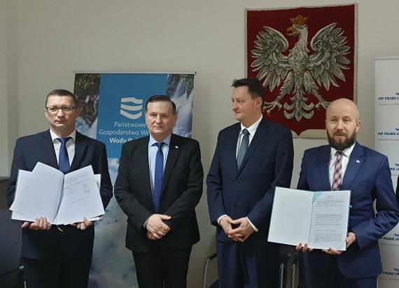 PKP PLK współpracują w zakresie przebudowy mostu z Wodami Polskimi oraz ze stroną niemiecką