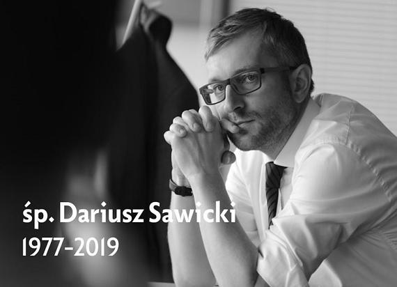 Nie żyje Dariusz Sawicki, Członek Zarządu CPK