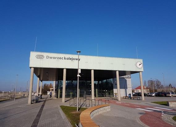 Nowy dworzec PKP w Czeremsze otwarty. Zobacz jak przebiegała budowa! [WIDEO]