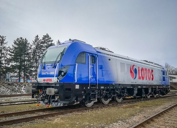 Nowe Dragony 2 LOTOS Kolej ruszyły w Polskę