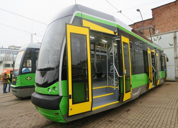 Nowe tramwaje Modertransu trafiły do Elbląga