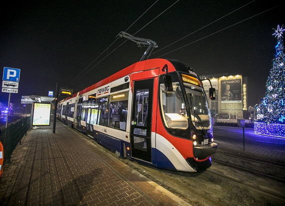 Pierwszy w Polsce przejazd tramwajem autonomicznym [ZDJĘCIA]