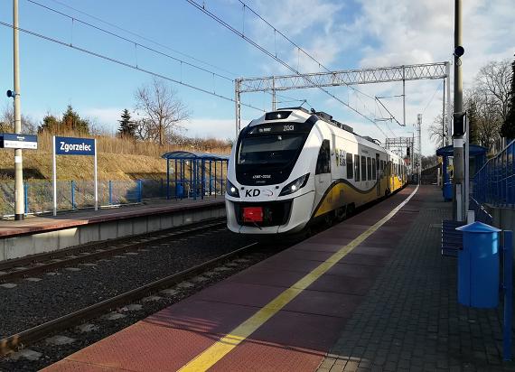 Podróżni kilkuset pociągów skorzystali z elektryfikacji linii Węgliniec – Zgorzelec