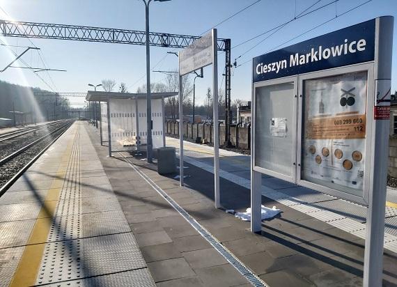 Między Cieszynem a Zebrzydowicami powstały nowe perony