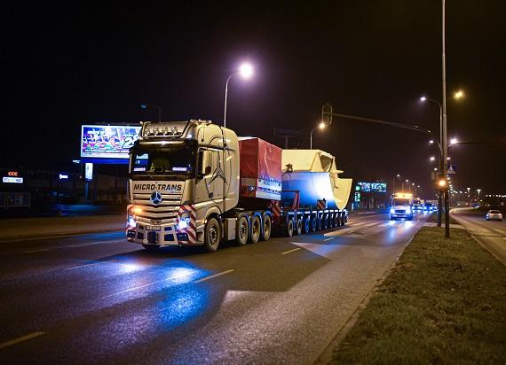 Łódź: Za półmetkiem transport pierwszej maszyny TBM do drążenia tuneli