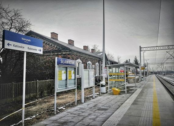 Stacja Sławków na półmetku przebudowy. Będą lepsze podróże do Sosnowca i Olkusza