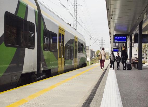 Koleje Mazowieckie przewiozły o 2 miliony więcej pasażerów w 2019 roku