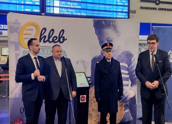 Pierwszy w Polsce Daromat stanął na dworcu w Warszawie