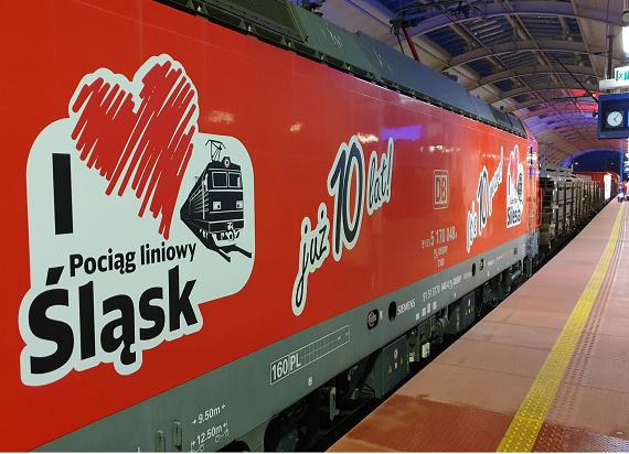 Mija dziesięć lat od uruchomienia pociągu liniowego SILESIA w europejskiej sieci kolejowej DB Cargo