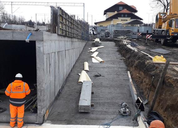 Nowe stacje, tunele podziemne i parkingi. PKP PLK i Skawina przygotowują się na kolej [ZDJĘCIA]