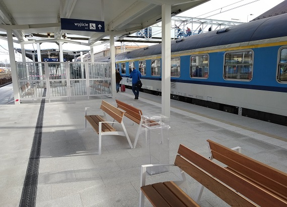 Rzeszów Główny z dwoma nowymi peronami oddany do użytku