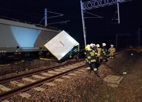 Pomorskie: Drezyna zderzyła się z lokomotywą. Zginęły dwie osoby