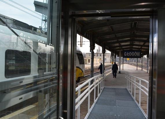 Nowe windy na stacji w Głogowie [ZDJĘCIA]